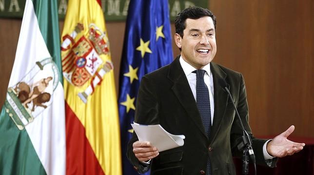 Moreno será presidente de Andalucía con Cs y gracias a Vox