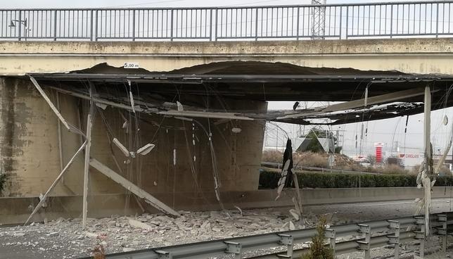 A la espera de una solución para el puente de la A-68