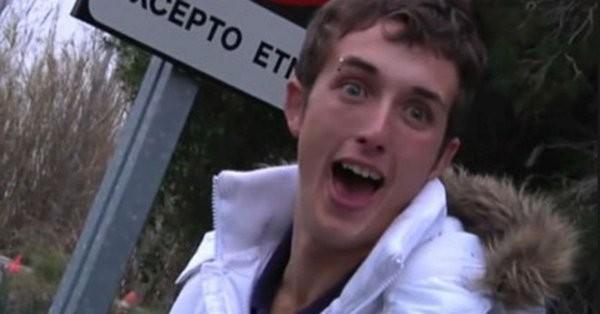 El joven del 'pim pam toma lacasitos' conciencia desde Soria