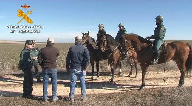 El Escuadrón refuerza la vigilancia en el medio rural