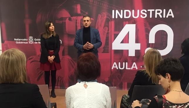 Presentación del nuevo aula en Iturrondo Gobierno de Navarra