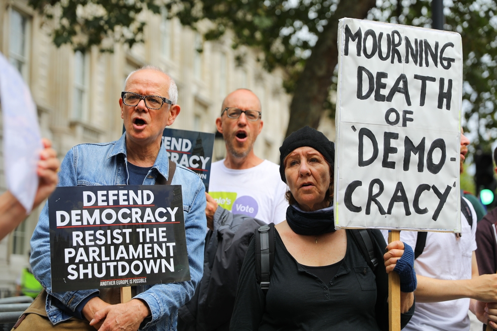 Protest against Brexit in London