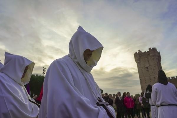 El tiempo respeto la procesión de Sacrificio de Medina