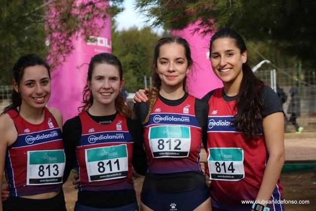 Cuatro equipos del San Ildefonso compiten en el Nacional por Club Atletismo San Ildefonso