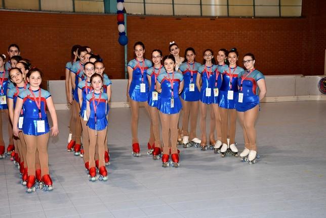 135 patinadores en el Trofeo Olena