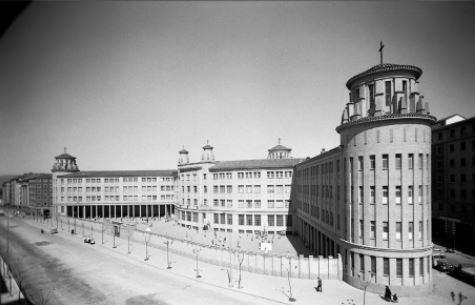 Proyecto del edificio de Maristas Ayuntamiento de Pamplona