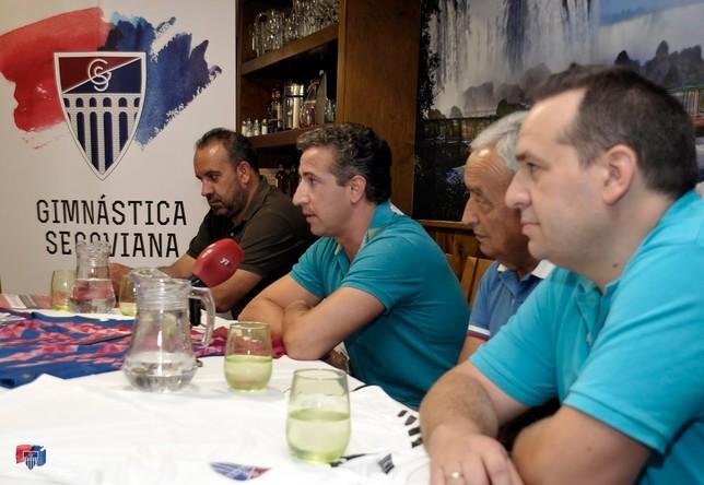 La Segoviana plantea convertirse en Sociedad Anónima Juan Martín_Gimnástica Segoviana