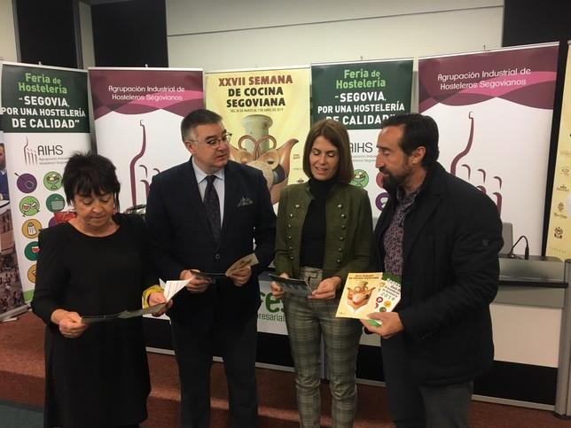La Semana de la Cocina Segoviana exaltará el producto local PRODESTUR