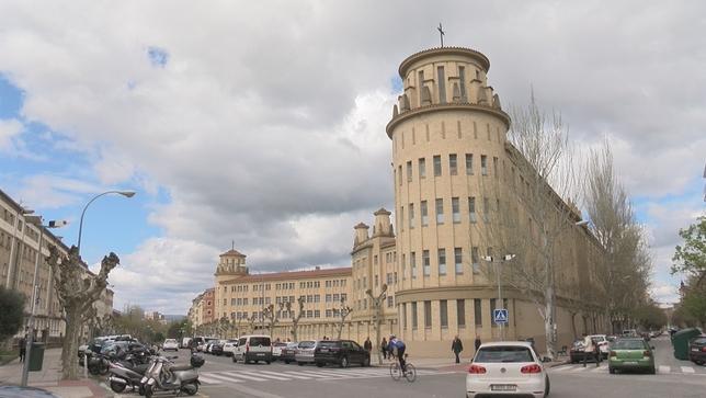 Estado actual del edificio de Maristas NATV