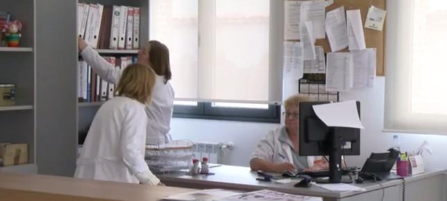Primeros pasos del centro de salud de Carbonero el Mayor