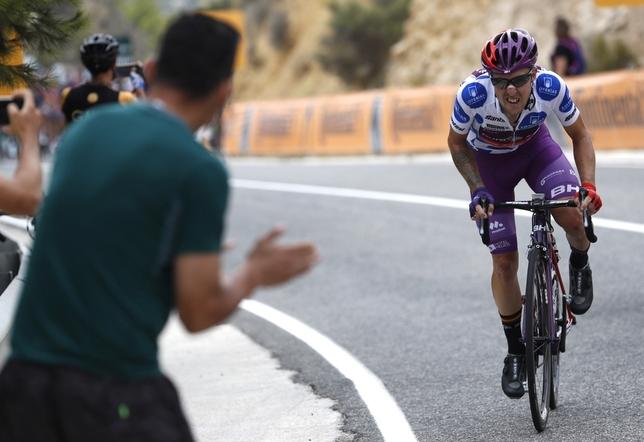 El Burgos BH, protagonista de la Vuelta a España