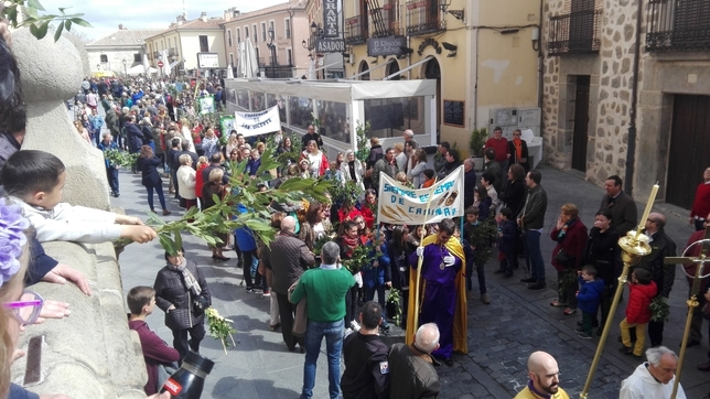 Domingo de Ramos al paso de La Borriquilla