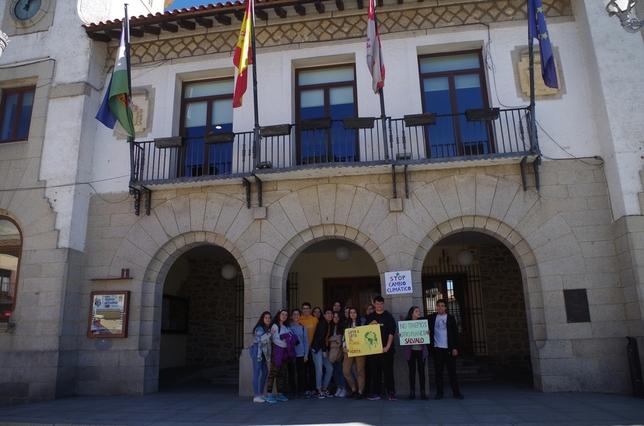 Los estudiantes segovianos se suman al 'Fridays for Future'