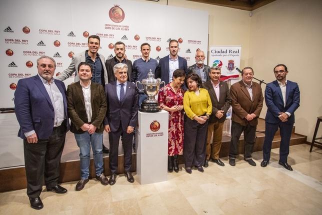 Movistar Inter-Barça y Ribera-Jaén, semifinales de Copa Pablo Lorente