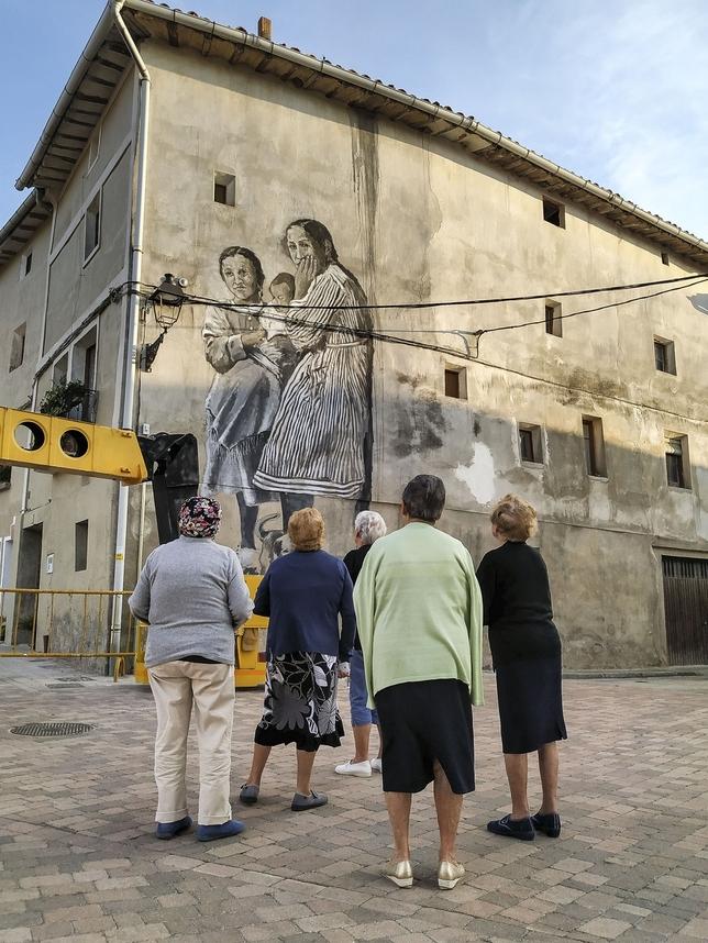 Un mural de récord