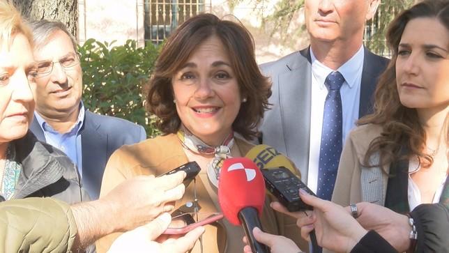 """Beatriz Escudero: """"Votar a Vox hoy significa romper España"""" Óscar Gómez"""