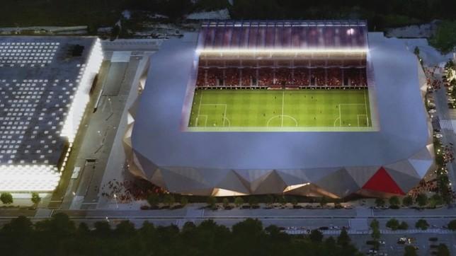Sadar Berria quiere un estadio que evoque a una cantera