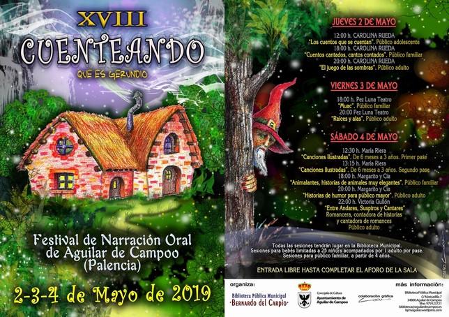 Aguilar inaugura el jueves una nueva edición de Cuenteando