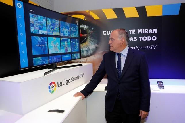 Nace LaLigaSportsTV, para ver todo el deporte español Juan Carlos Hidalgo