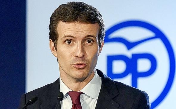 Pablo Casado, presidente del PP. David Campos