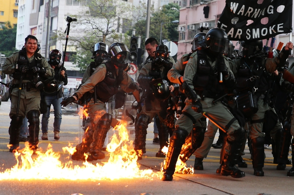 El caos y las protestas vuelven a tomar Hong Kong