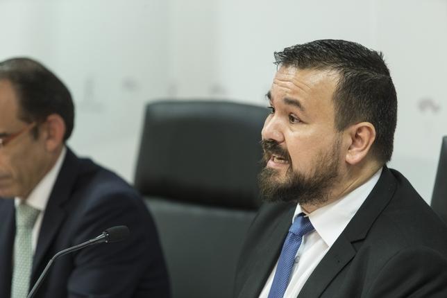 Juan Ramón Amores, director general de Juventud y Deportes del Gobierno regional, medalla de Oro de CLM.