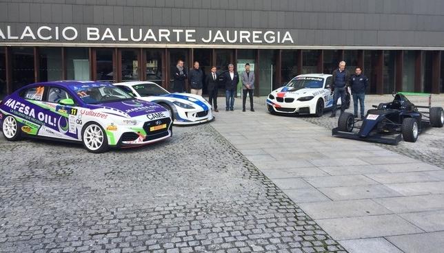 Baluarte ha acogido la presentación del Racing Weekend Gonzalo Velasco