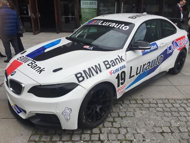 Uno de los BMW que compiten en la categoría de Gran Turismo Gonzalo Velasco