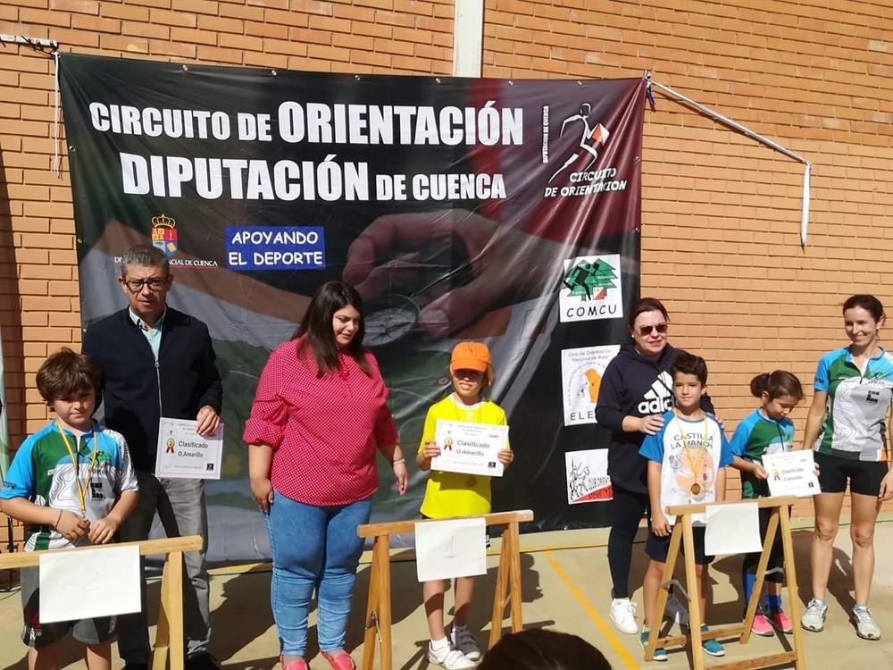 Rodríguez y Díaz se llevan el provincial de Orientación