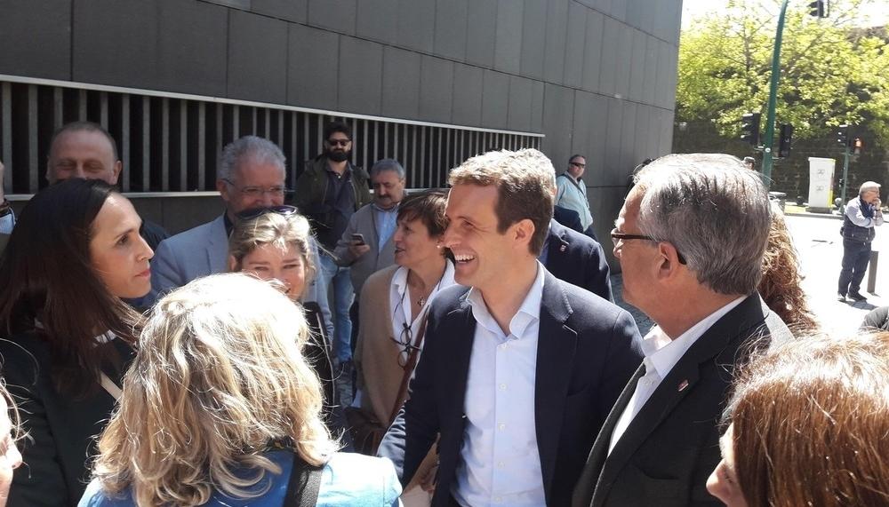 En defensa de Navarra Suma: Casado visita mañana Pamplona