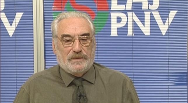 Fallece José Antonio Urbiola, expresidente de PNV en Navarra Archivo NATV