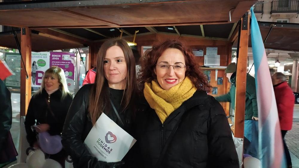 Así fue el cierre de campaña de los partidos en Valladolid: Unidas Podemos.