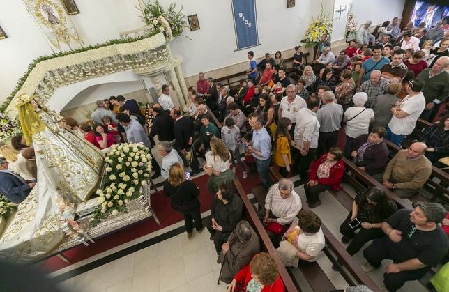 Fervor por la Virgen del Monte en Bolaños de Calatrava Tomás Fernández de Moya