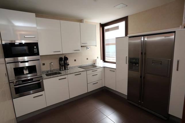 La cocina está perfectamente equipada desde el año 2007.