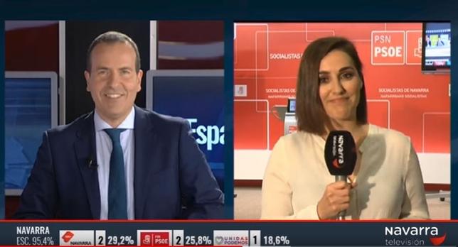 La jornada electoral en directo, este domingo en Navarra TV