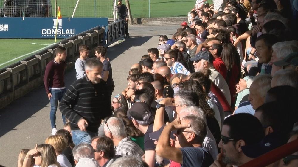 Tajonar se ha llenado para ver el amistoso entre Osasuna y Real Sociedad