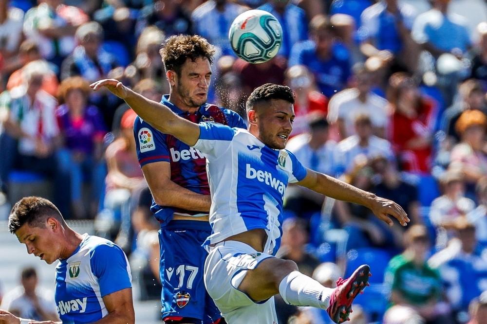 El Levante deja tocado al Leganés y a Pellegrino