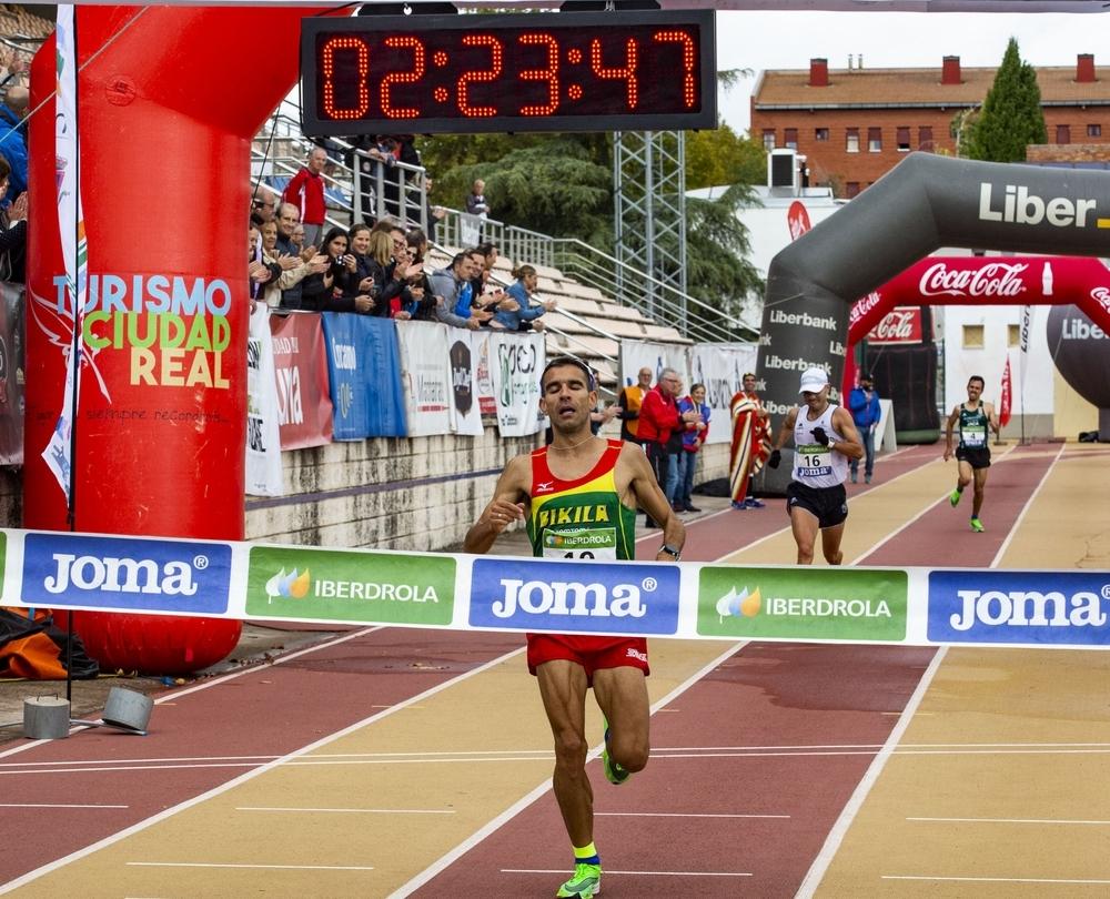 Luis Miguel Sánchez, nuevo campeón de España de maratón.