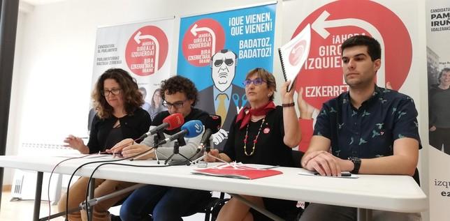"""Izquierda-Ezkerra: """"Daremos la oportunidad a PSN"""""""