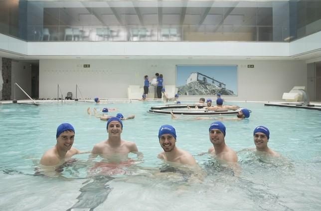 Osasuna asimila la derrota de Tenerife en un balneario MIKEL SAIZ