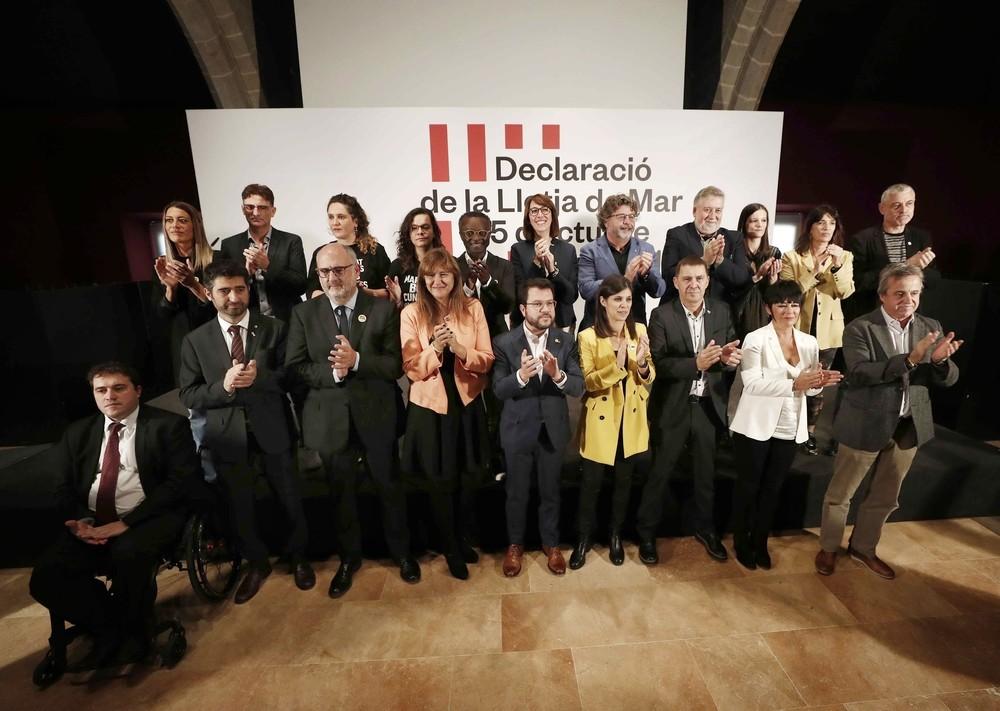 El independentismo nacional se une por la autodeterminación