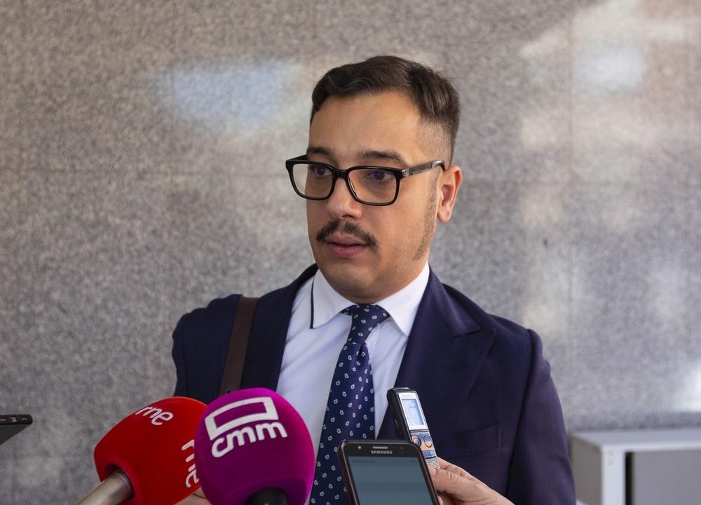El abogado Rodrigo García, que ejerce la acusación particular en representación de las familias de tres de las víctimas