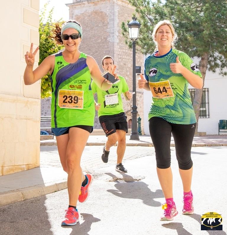 El júnior Touirtou se lleva la carrera popular 'La Fuente'