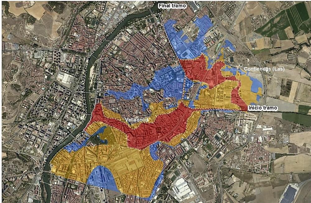 25.000 personas viven en zonas con alto riesgo de inundación