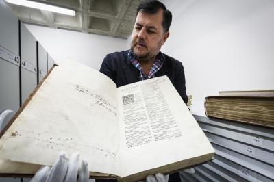El investigador Fermín de los Reyes ROSA BLANCO