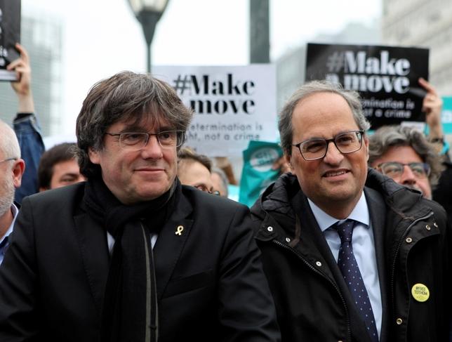 El Constitucional avala la candidatura europea de Puigdemont Ana Belinchón