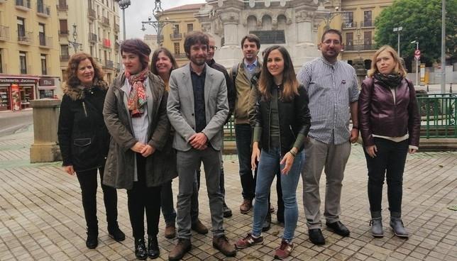 Podemos pide frenar a Navarra Suma y acelerar el cambio Podemos Navarra