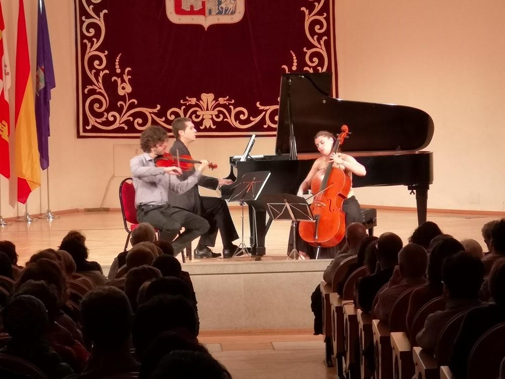 El Trío Rodín brilla en el Otoño Musical Soriano