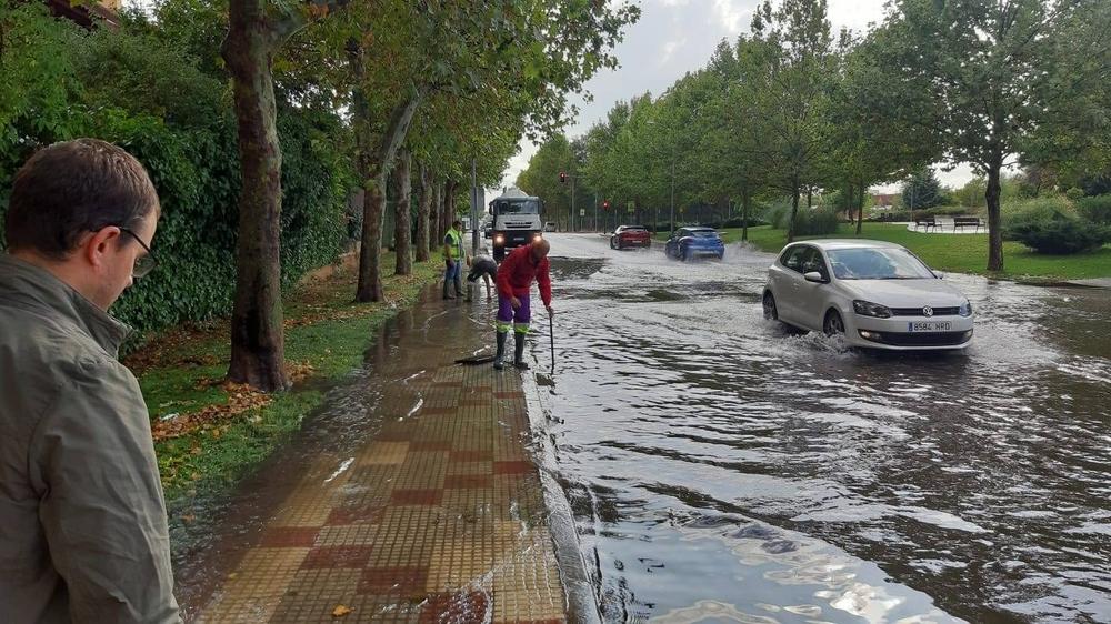 Balsas de agua en Guadalajara capital