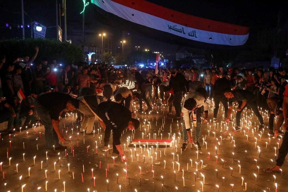 Tres muertos en las protestas en un embajada de Irán en Irak
